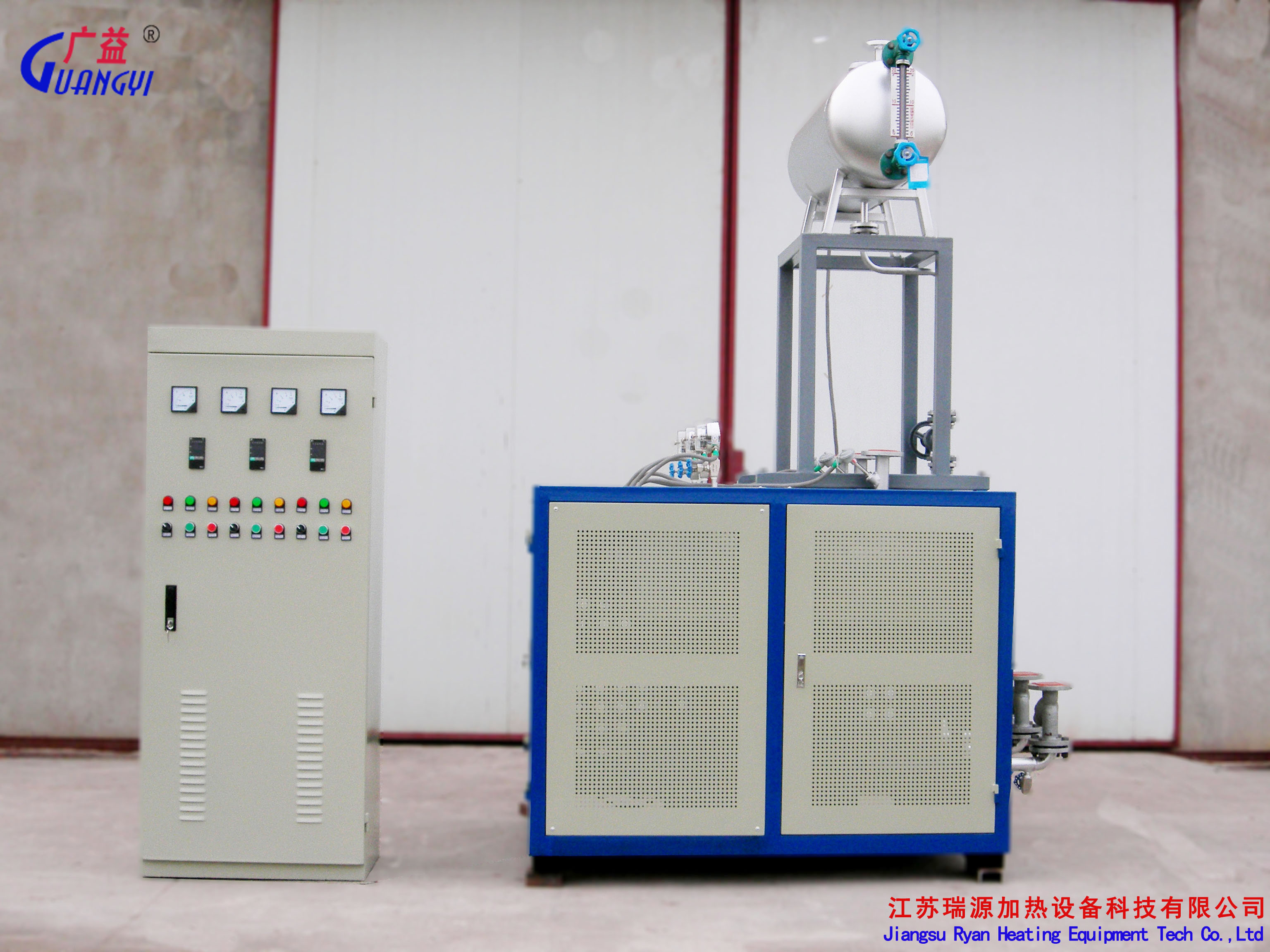 电加热导热油炉结构图