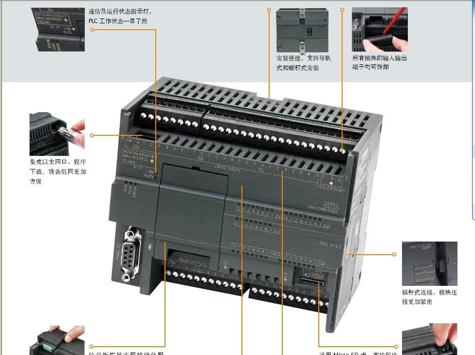 西门子smart200plc内蒙古代理商