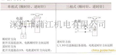 主电机和辅助电机接线图