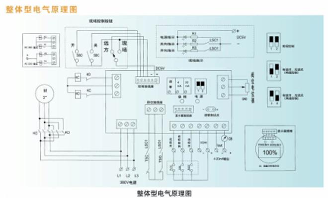 z941h一体化电动闸阀,电动闸阀接线图