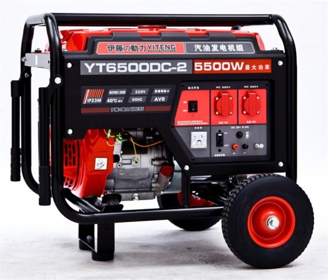 5kw汽油小型三相发电机