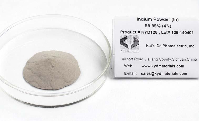 99.99% 铟锭,铟粉,铟丸,铟颗粒产品图片