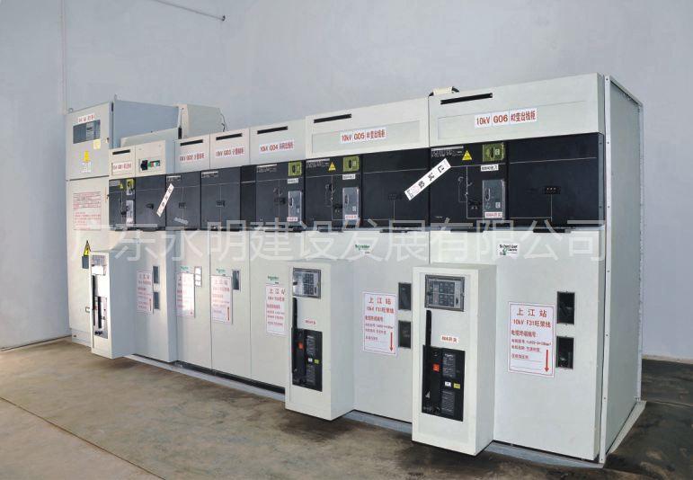 建筑工地配电房施工用电电路系统布置图