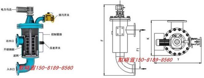 洗桶电机接线图
