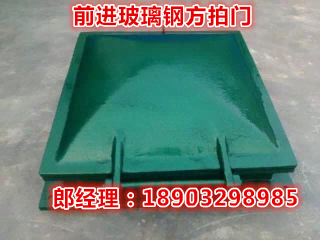 河北厂家供应玻璃钢拍门重量