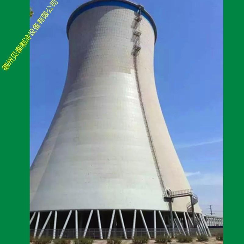 双曲线自然通风冷却塔是火电厂