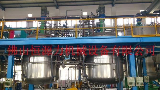 纺织助剂反应釜 表面活性剂反应釜