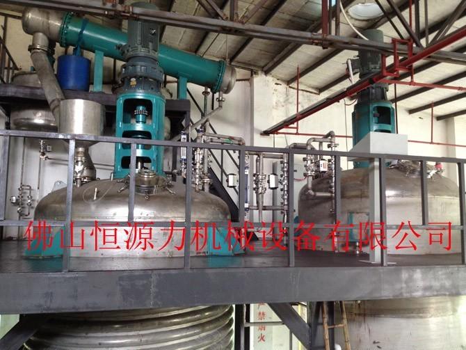 水性PU成套生产设备 水性聚氨酯反应釜 水性PU反应釜