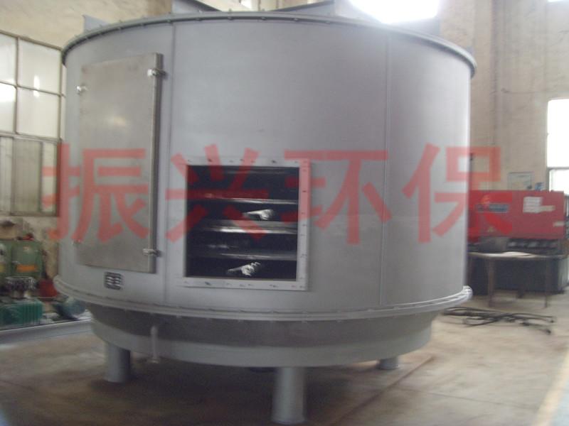 PLG-3000米X10层白土立式圆盘干化机,盘式连续干化设备