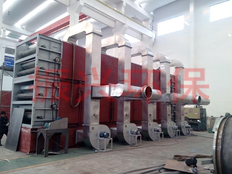 姜片多层带式干化机,网带式不锈钢连续干化设备