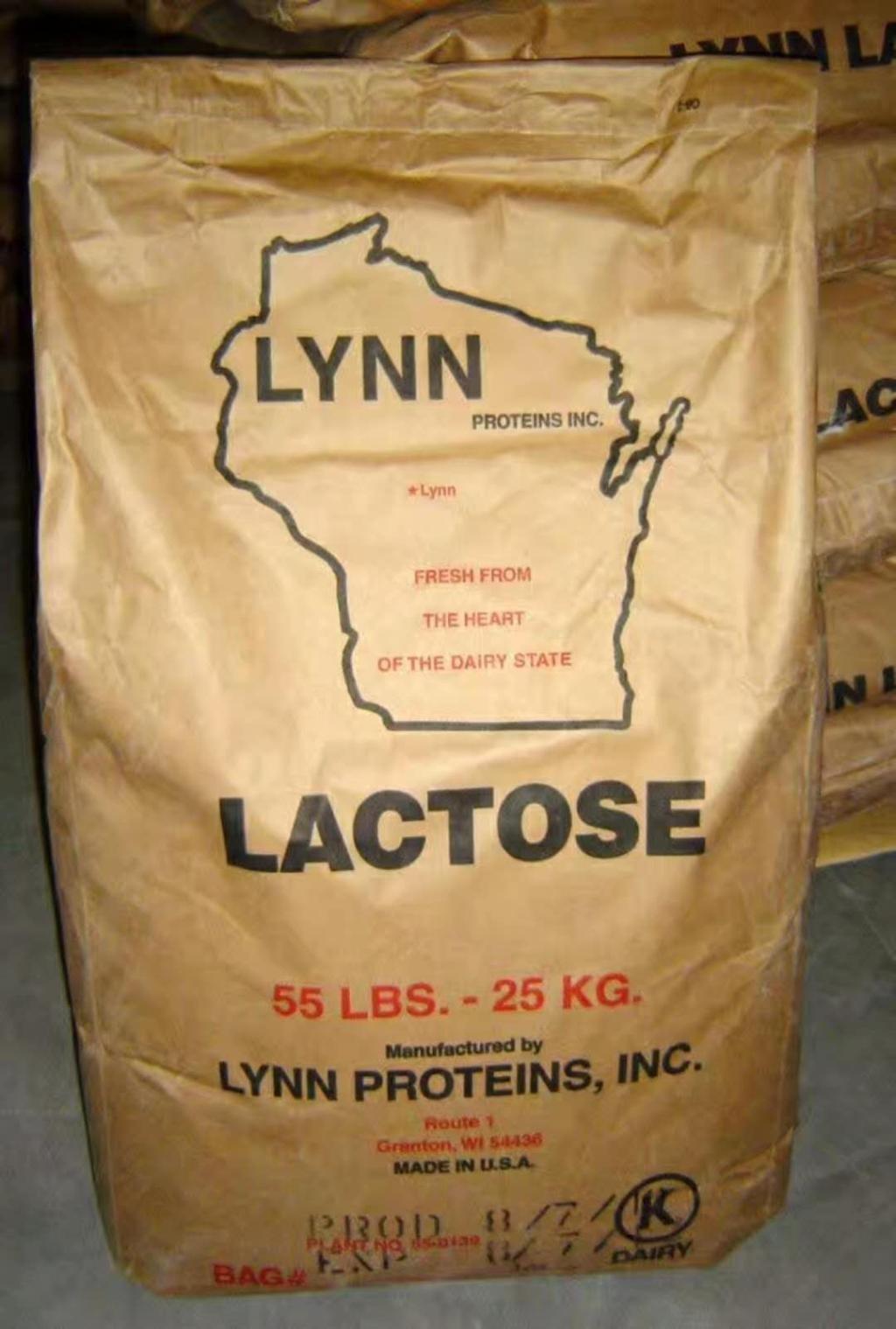 湖北总代理美国乳糖Lactose 规格50-200目