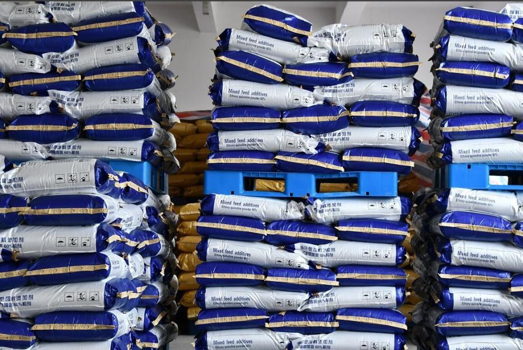 乙氧基喹啉粉剂60% 饲鲜Ⅱ号 95%乙氧基喹啉原油lisa试剂盒、PCR检测试剂盒,苯酚,二甲基亚砜,丙二醇