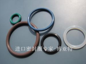 无锡进口氟橡胶O型圈产品图片