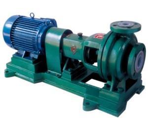 IHF型钢衬氟化工离心泵