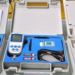 纯水电导率测试仪 便携式电阻率仪SX713  电阻率0-100兆欧