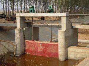 PGZ2米*2米铸铁闸门 产品图片