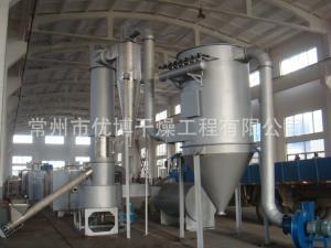 556kg/h冰晶石旋转闪蒸干燥机