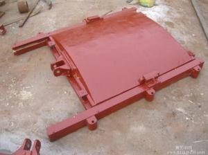PGZ500*500明杆铸铁闸门价格安装外形尺寸