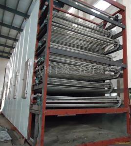产能50吨每天香蕉,菠萝,芒果渣带式干燥机 产品图片