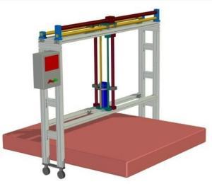 运动防护垫抗冲击试验台产品图片