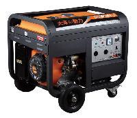 电脑照明5千瓦三相汽油发电机产品图片