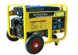 TOTO230A,进出口230A汽油发电电焊机