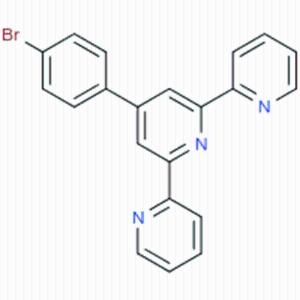 4-(4-溴苯基)-2,2:6,2-三联吡啶CAS号:89972-76-9 ;4'-(4-bromophenyl)-2,2':6',2''-terpyridine 厂家优势现货供应
