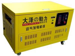 三相静音20千瓦沼气发电机