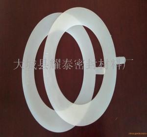 耐高温硅胶垫片 厂家定制硅胶垫片尺寸产品图片
