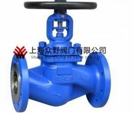 WJ41H波纹管截止阀产品图片