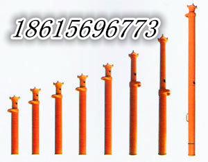 矿山专用玻璃钢液压支柱,湖南DWB轻型单体液压支柱产品图片