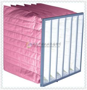 潔凈室通風用化纖袋式中效過濾器生產廠家-中謙機械