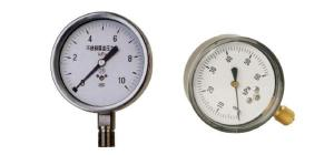 德圖-100B/150B不銹鋼膜盒壓力表