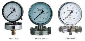 德圖YPF系列膜片壓力表