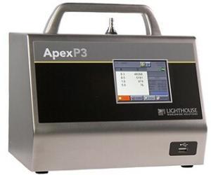 Apex便携式激光尘埃粒子计数器p3粉尘仪美国lighthouse产品图片