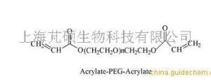 双丙烯酸酯聚乙二醇  DA-PEG-DA  PEG Acrylate 产品图片