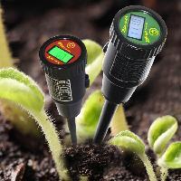 土壤酸度计 数显土样PH酸碱度测试计 EC电导率测试仪产品图片