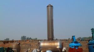山东出售二手酒精蒸馏塔回收塔