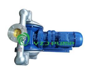 隔膜泵:DBY-65型防爆丁晴膜片铸铁电动隔膜泵 产品图片