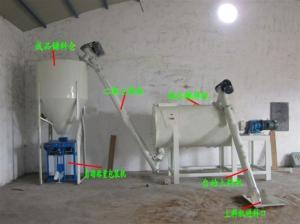 广州立式螺旋混合机 双螺带锥形粉料混合机设备生产厂家