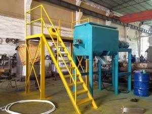 中山立式螺旋混合机 双螺带锥形粉料混合机设备生产厂家