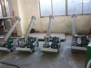 PP材质的螺旋上料机