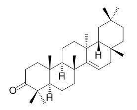 蒲公英萜酮,Taraxerone,514-07-8,中药标准品,对照品