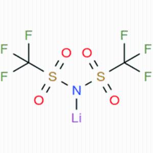 双三氟甲烷磺酰亚胺锂 Lithium Bis(trifluoromethanesulfonyl)imide CAS号:90076-65-6 现货供应