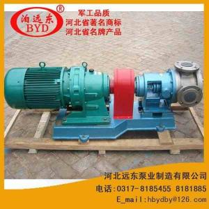 玻璃膠泵高粘度轉子泵