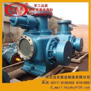 油氣混輸泵W7.3ZK85Z1M1W80雙螺桿泵,配:YB55KW-6電機,流量:120m3/h壓力:0.6Mpa