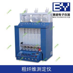 秉越国产品牌BYCXW-6粗纤维测定仪,粗纤维法测定粗纤维选择秉越质量绝对有保障