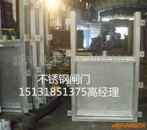 不锈钢电动渠道闸门