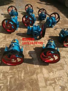 廠家現貨LC-50/0.6型羅茨泵-宏潤牌甘油輸送泵