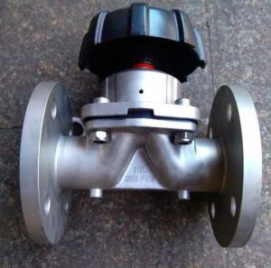 G41W不銹鋼隔膜閥